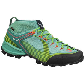 SALEWA Ws Alpenviolet GTX Schuhe Damen feld green/fluo coral